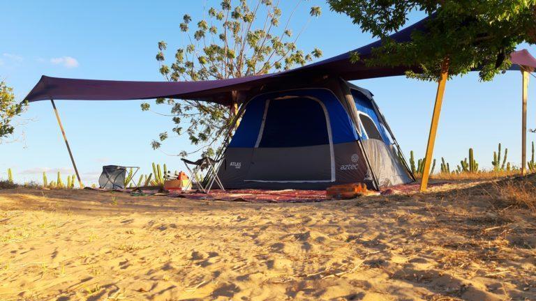 אוהל פרטי במתחם הקמפינג