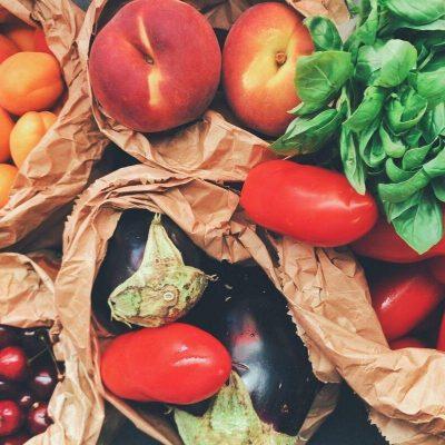 ירקות בתחנה