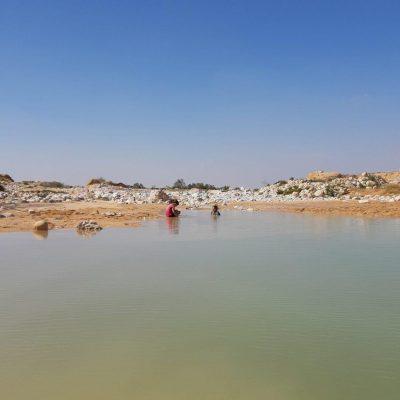 האגם הקסום בנחל ניצנה